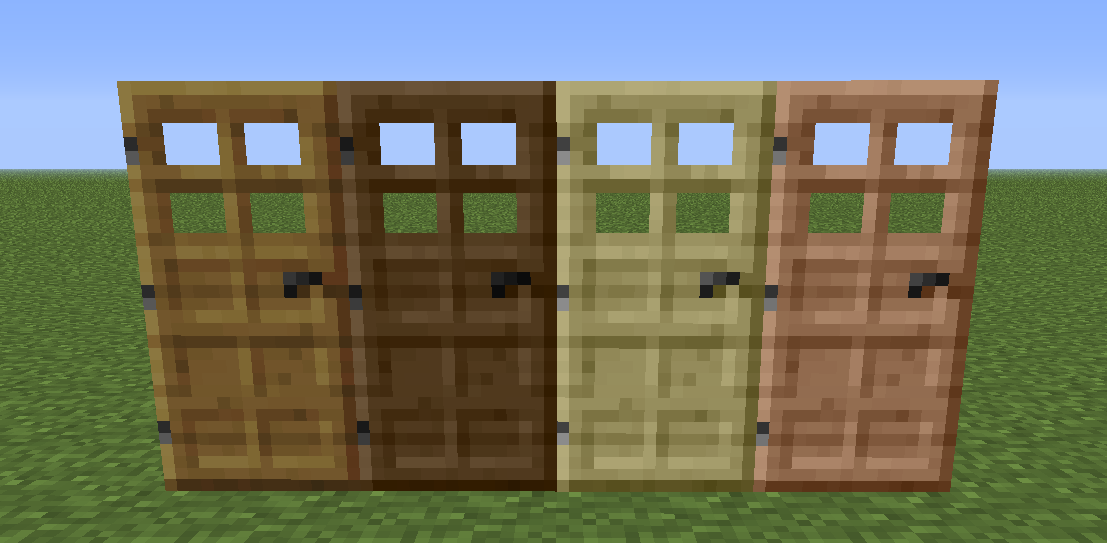 Extra Doors - Wood & Images - Extra Doors - Mods - Projects - Minecraft CurseForge