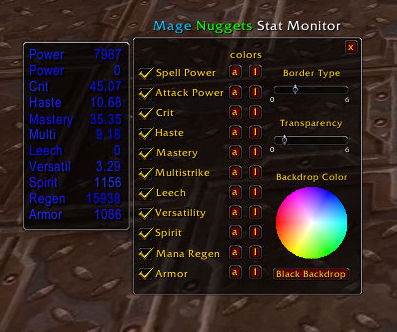 how to move mage nuggets