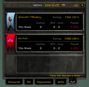 Images - Arena Calculator - Addons - Projects - WoW CurseForge