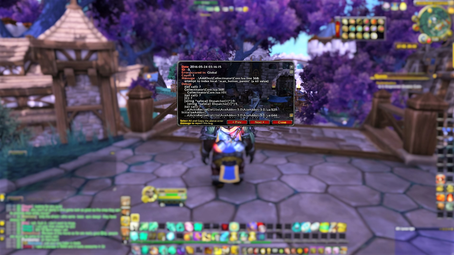 203 addon error - Issues - Collectinator - Addons - Projects