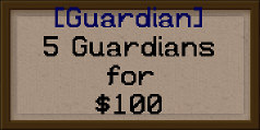 Example Guardian sign