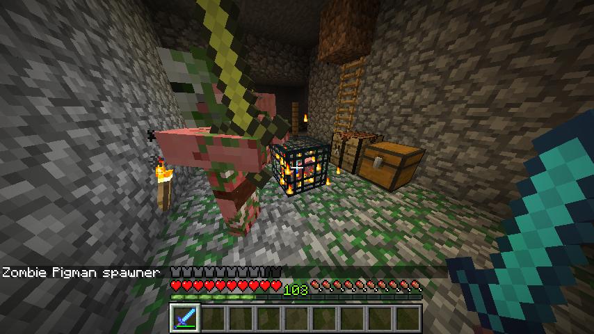 how to make pig spawner farm