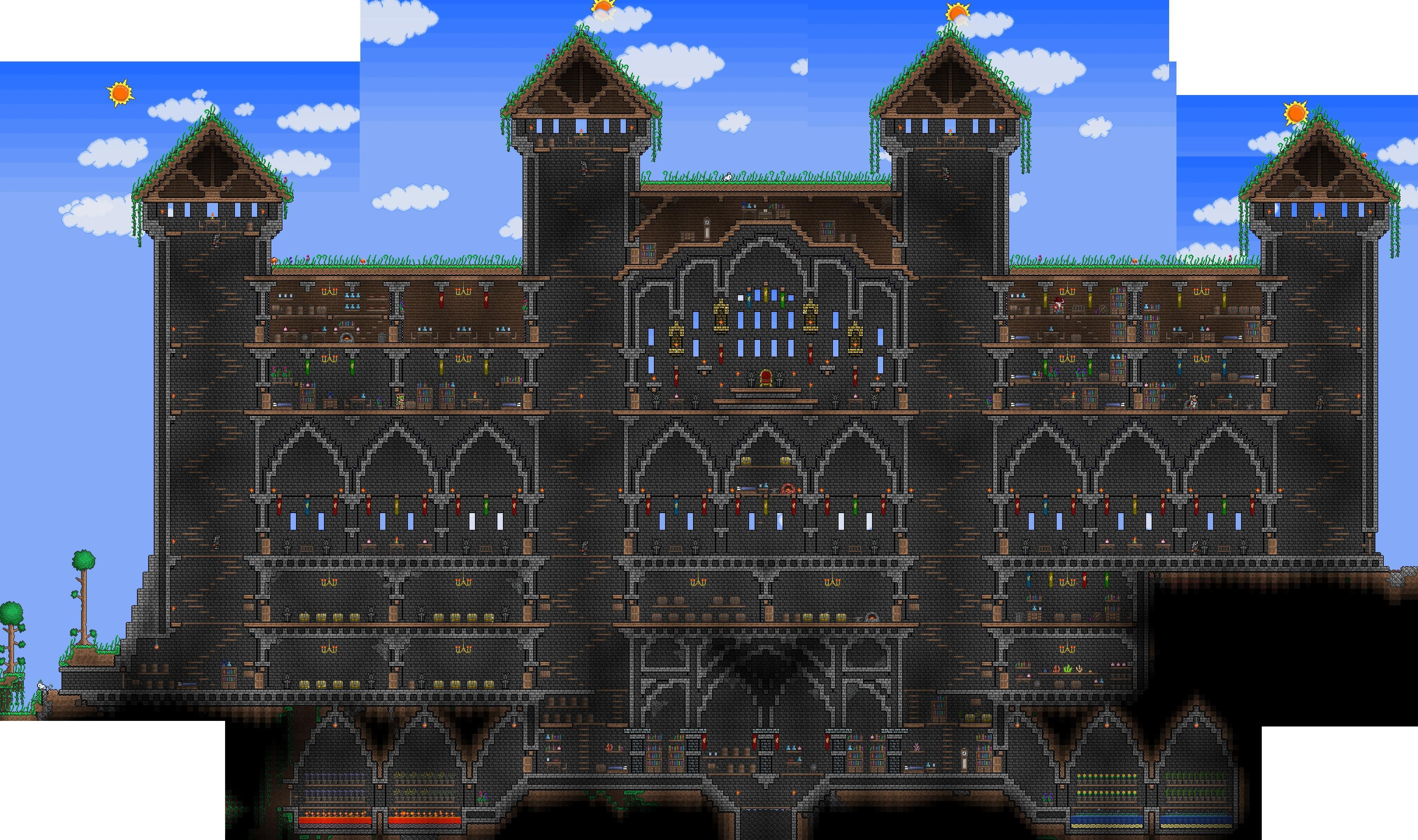 I haven't been outside in 3 days. : terraria.
