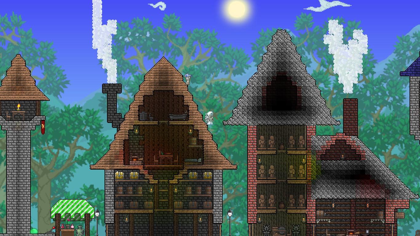 Terraria Best Biome To Build Npc Houses