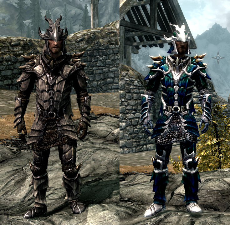 Dragonscale ... & Images - Dragonscale Armor Recolor - 4 Sets Complete - Mods ...