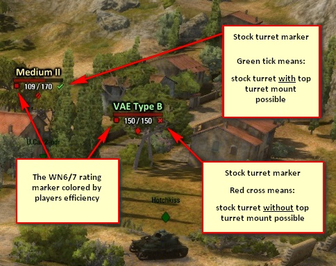 world of tanks contour mod