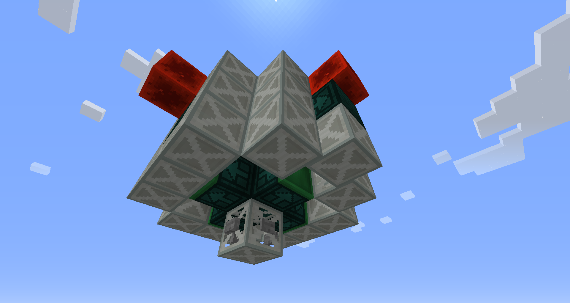 Mothership zeta (ufo) minecraft project.