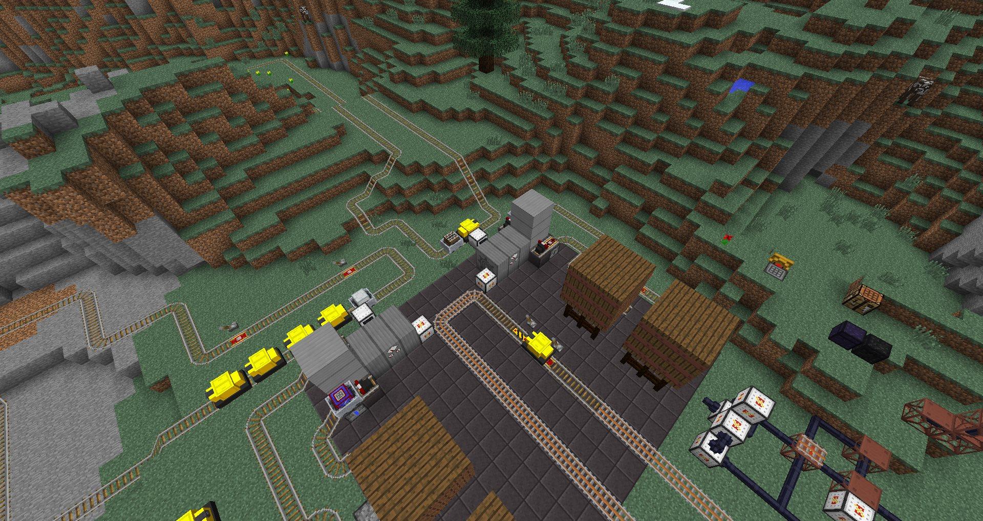 Карты на выживание для minecraft 1.8, 1.8.1, 1.8.3, 1.7.10 ...