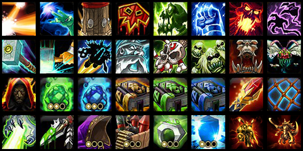 Images - Abilities and upgrades icon pack - Assets - Projects