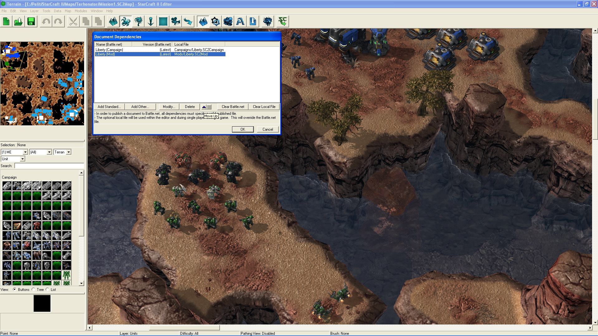 Misc how to use campaign units on map tutorials resources dependencies2g gumiabroncs Gallery
