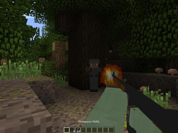 Minecraft mod call to battle