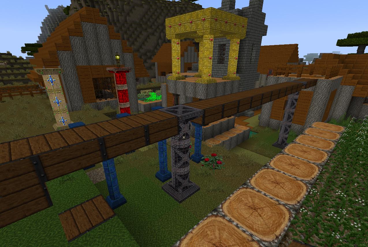 Glimmar's Steampunk pillar