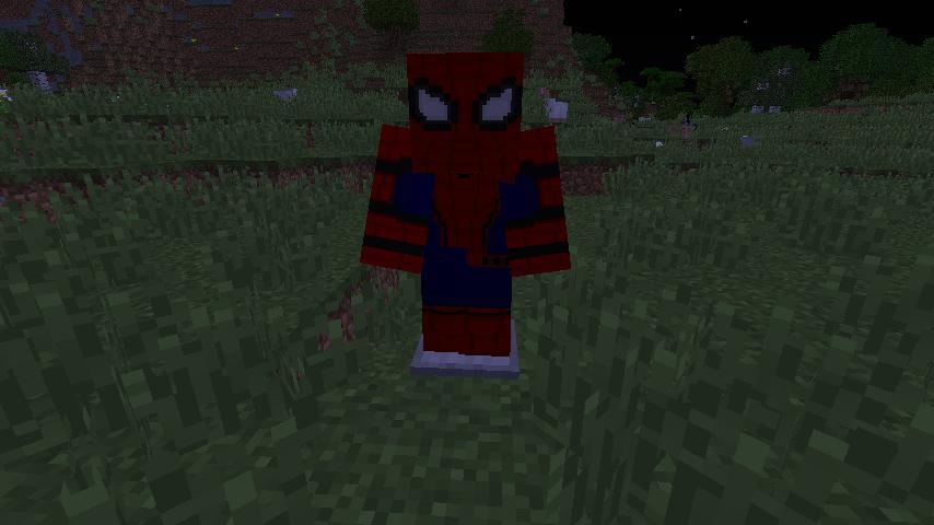 мод все костюмы человека паука на 1710 на майнкрафт #4