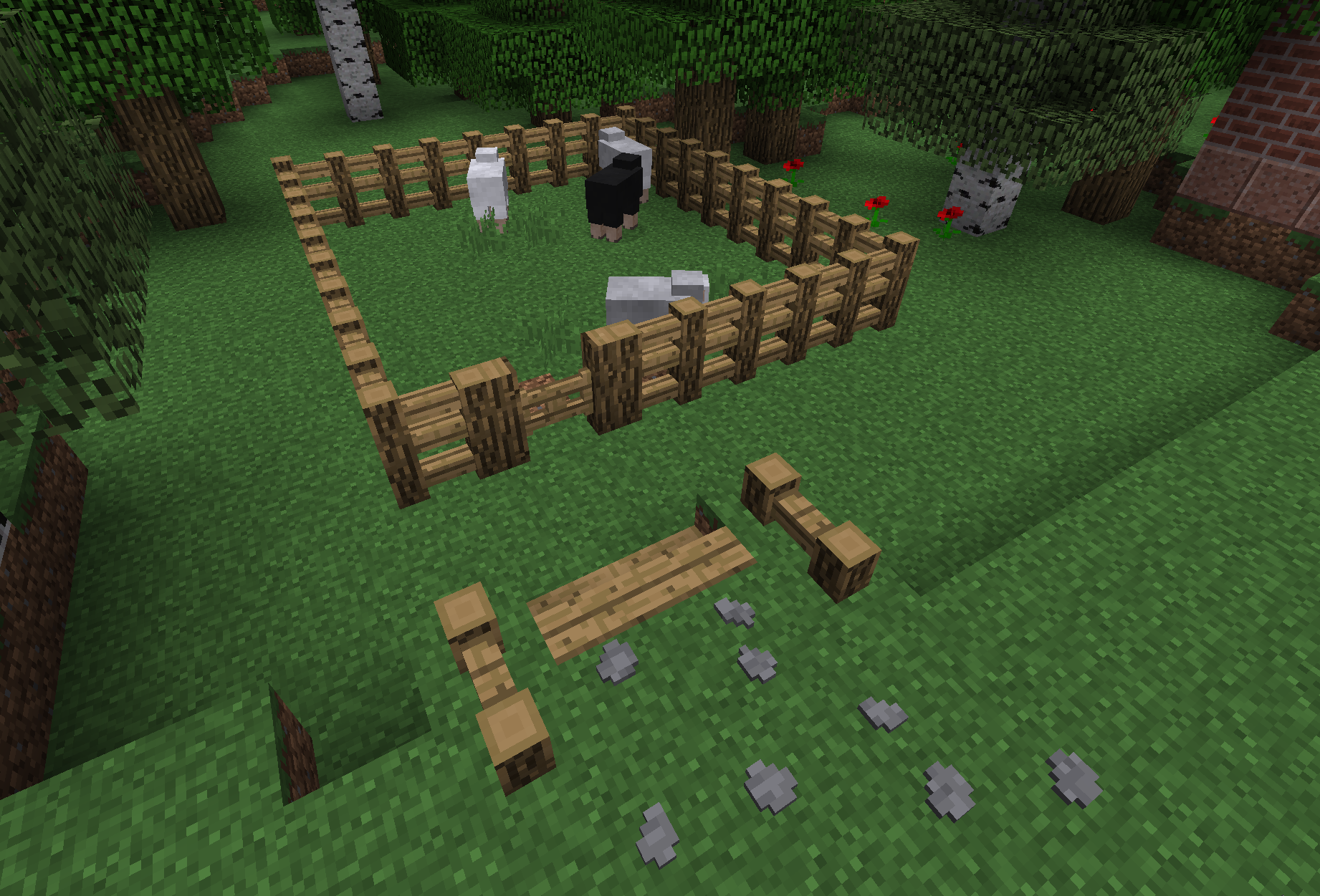 how to make a fence minecraft. Custom Fence Design How To Make A Minecraft