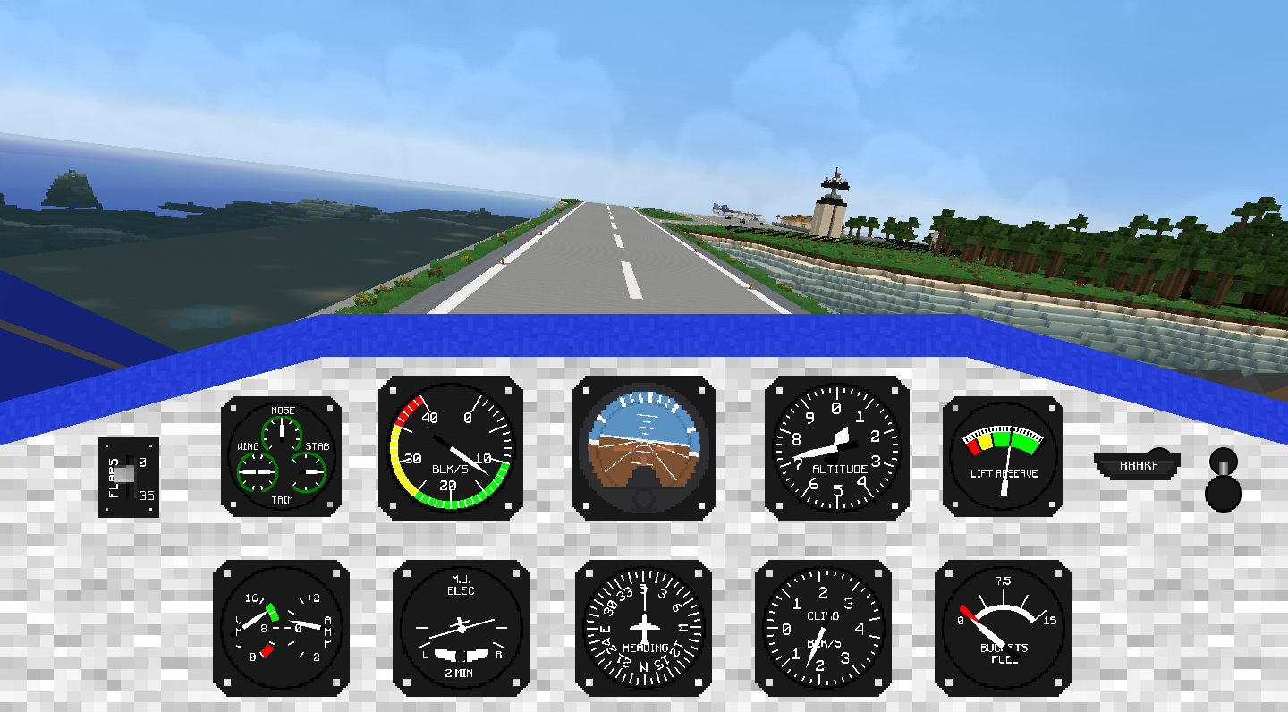 Minecraft Transport Simulator - Realistic transport for Minecraft