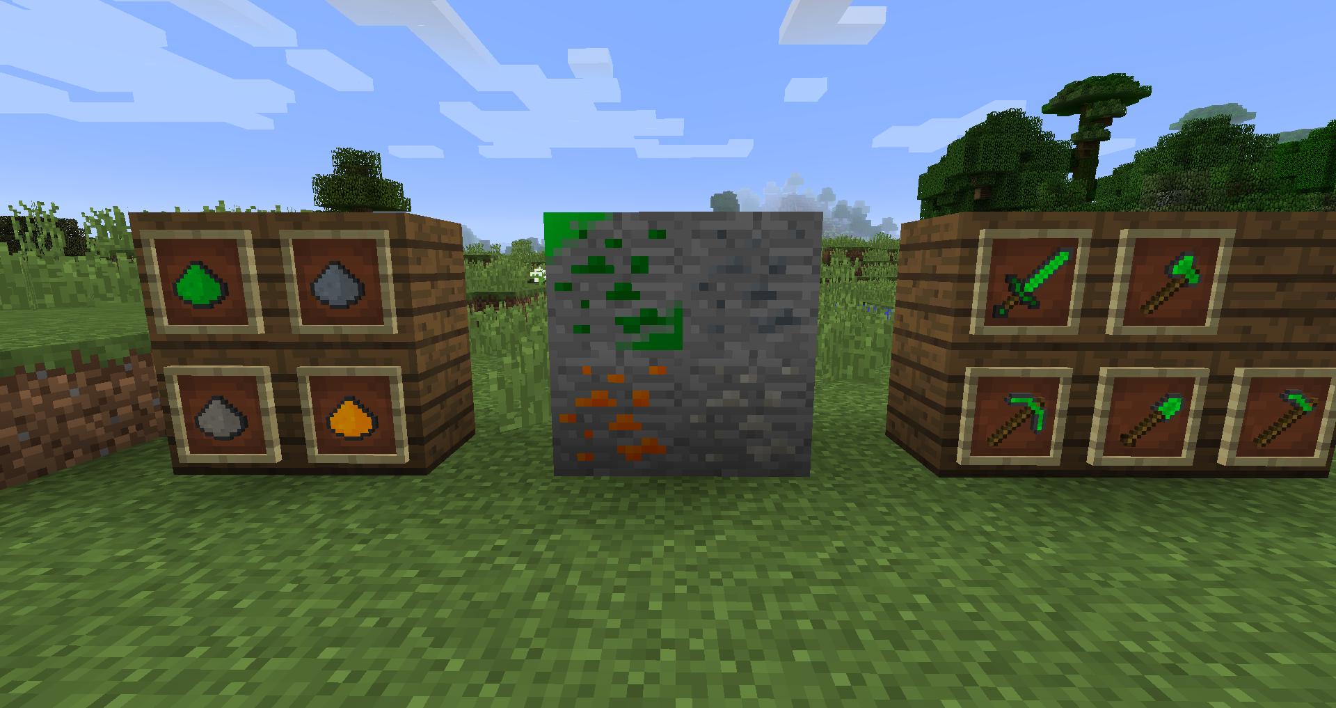 Mod blocks and items