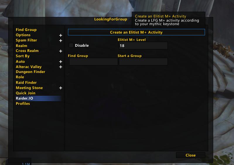 LookingForGroup Raider.IO - Addons - World of Warcraft ...