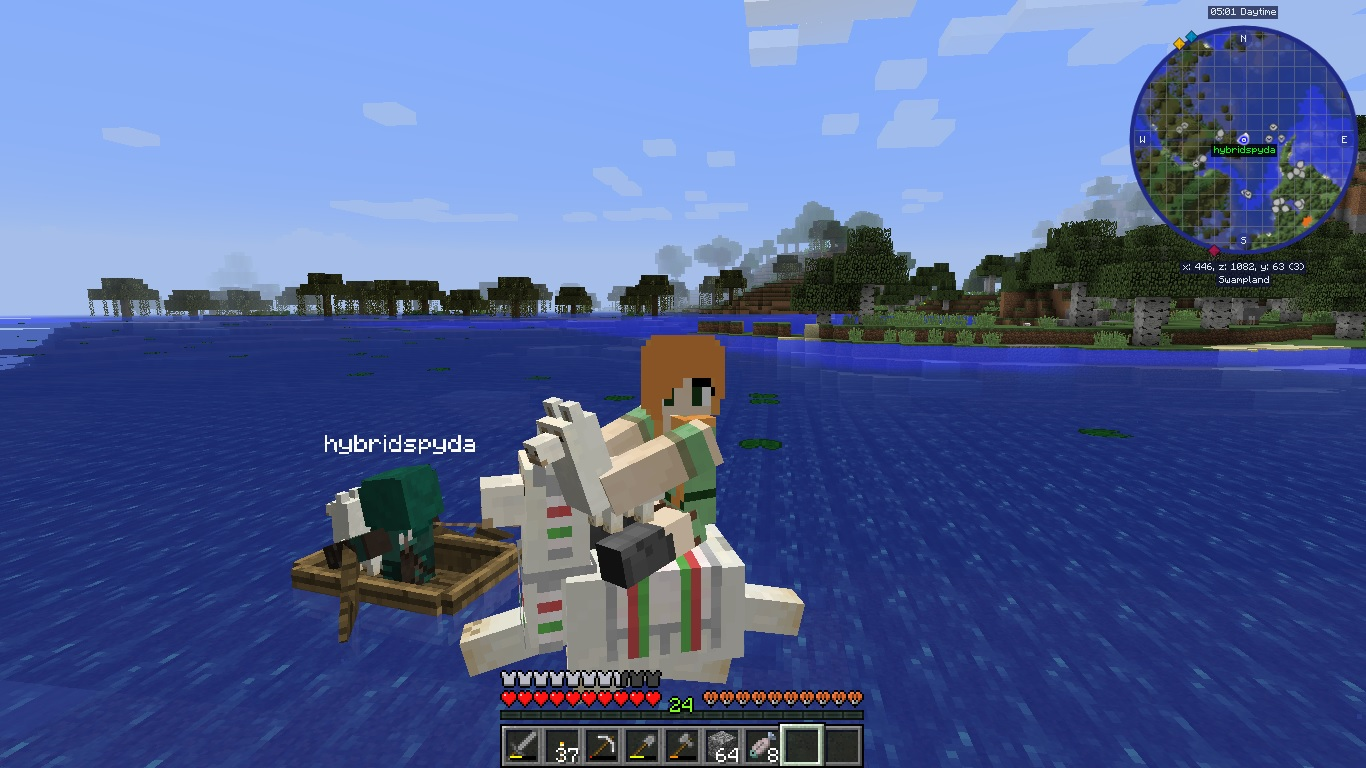 Image of: Animal Trap Invisible Armour Carrying Llama Minecraft Curseforge Images Vanilla Life Made Easy Modpacks Projects Minecraft