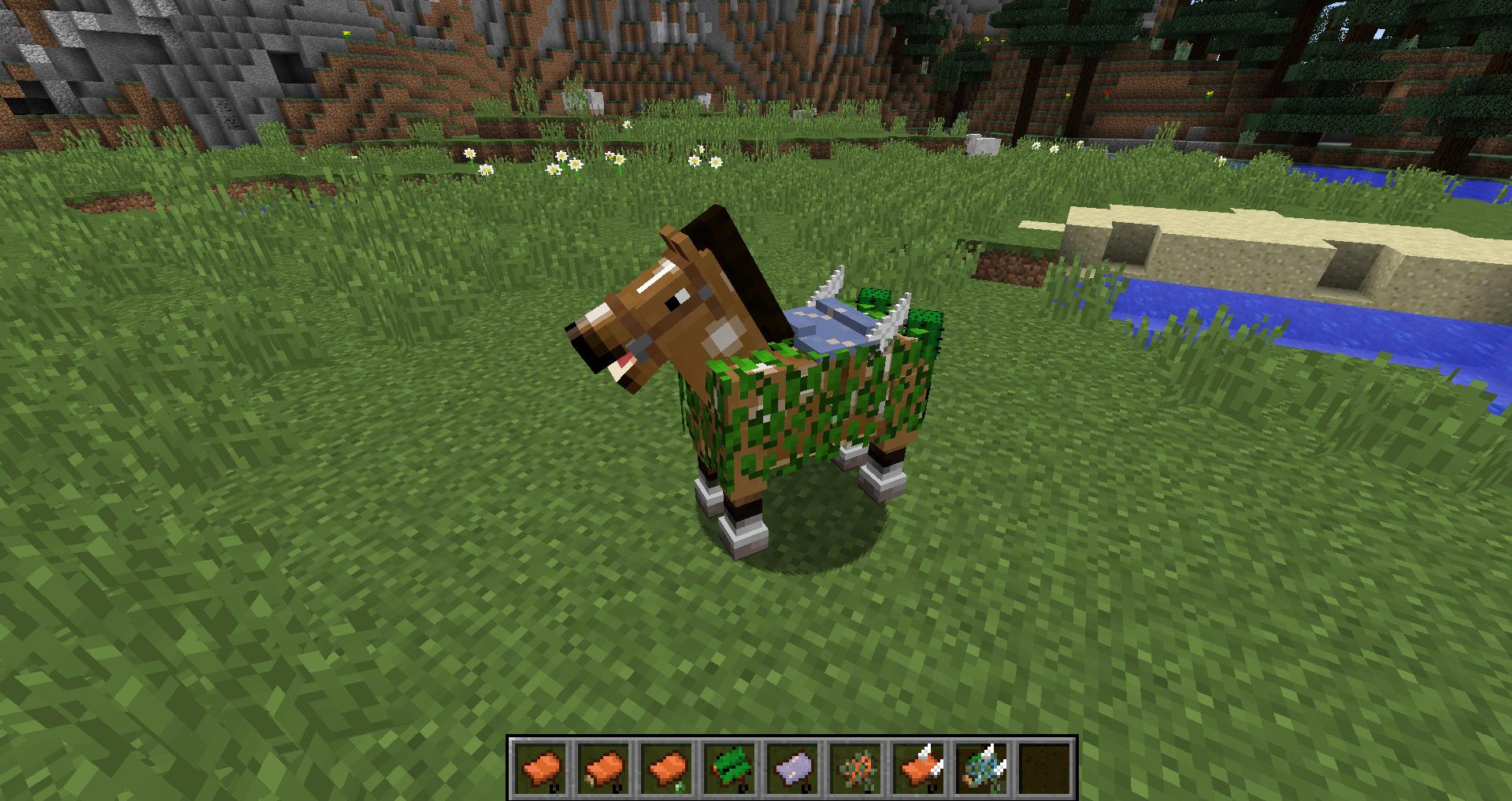 моды для майнкрафт с лошадьми 1.11.2 #4