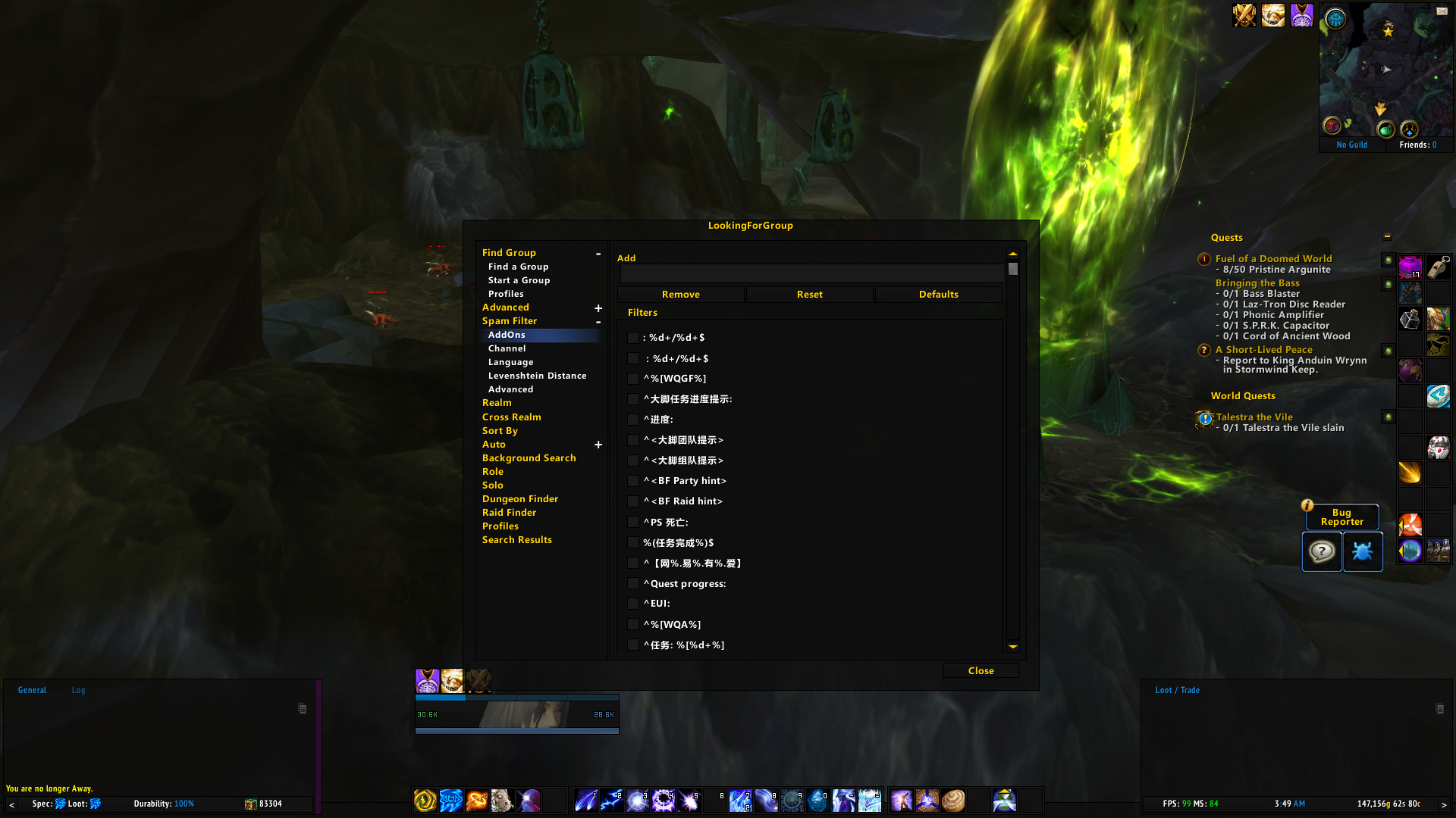 Overview - LookingForGroup (LFG) - Addons - Projects - WowAce