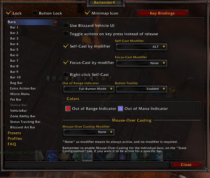 Bartender4 ver  4 8 1 - AddOn HELP! - Addon Chat - World of Warcraft