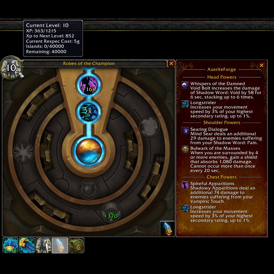 AzeriteForge - Addons - World of Warcraft - CurseForge