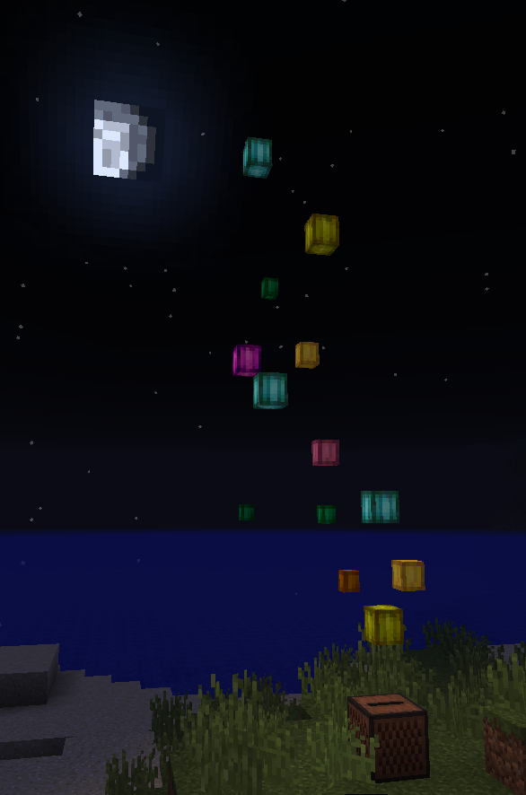 Example how lanterns can be used