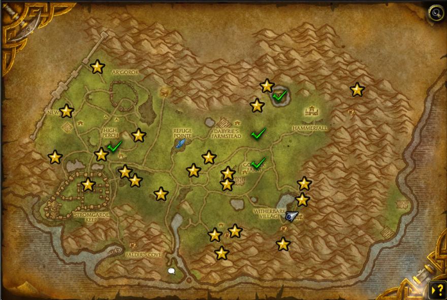 World map integration