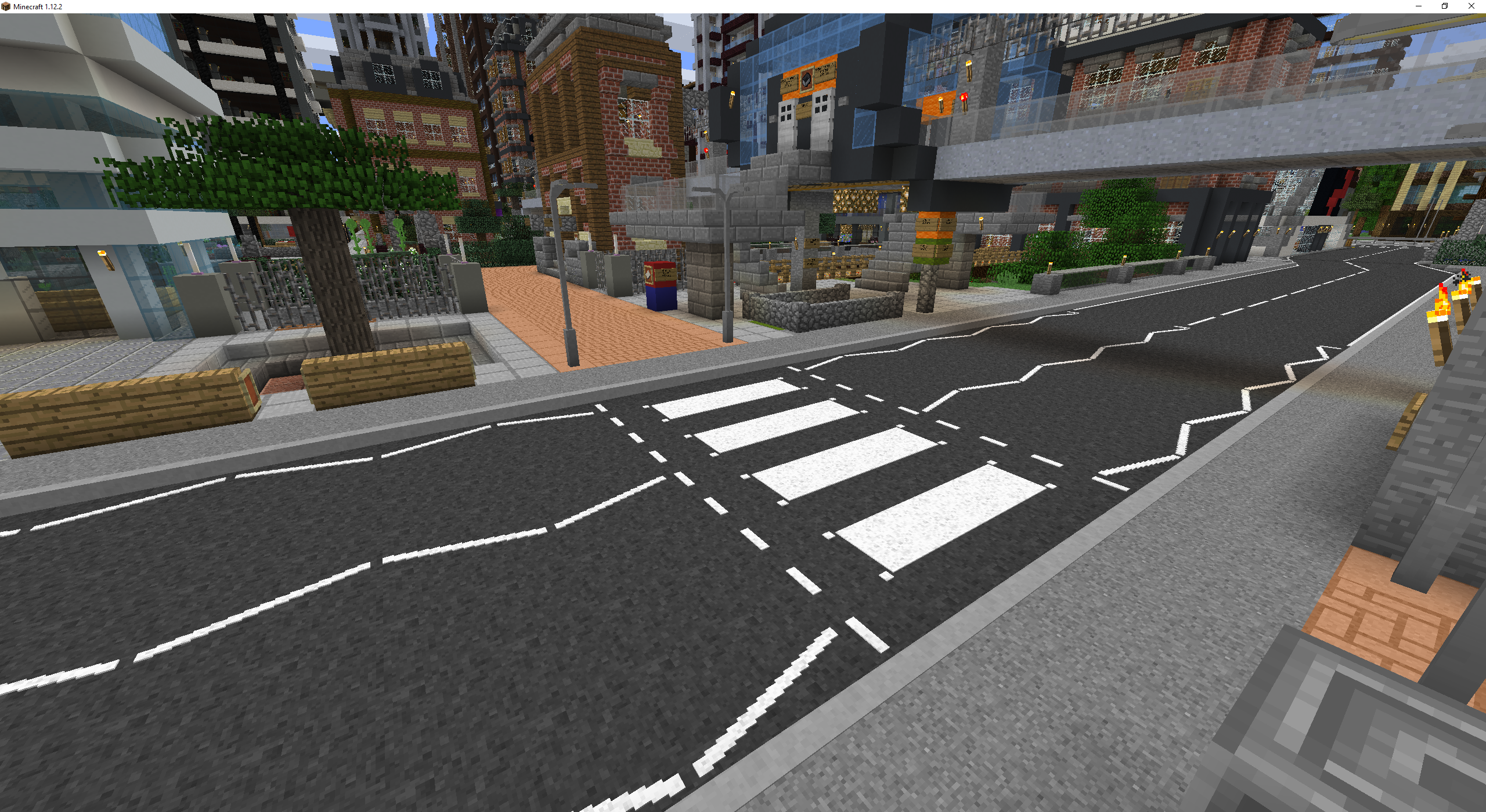 A UK-style Zebra Crossing