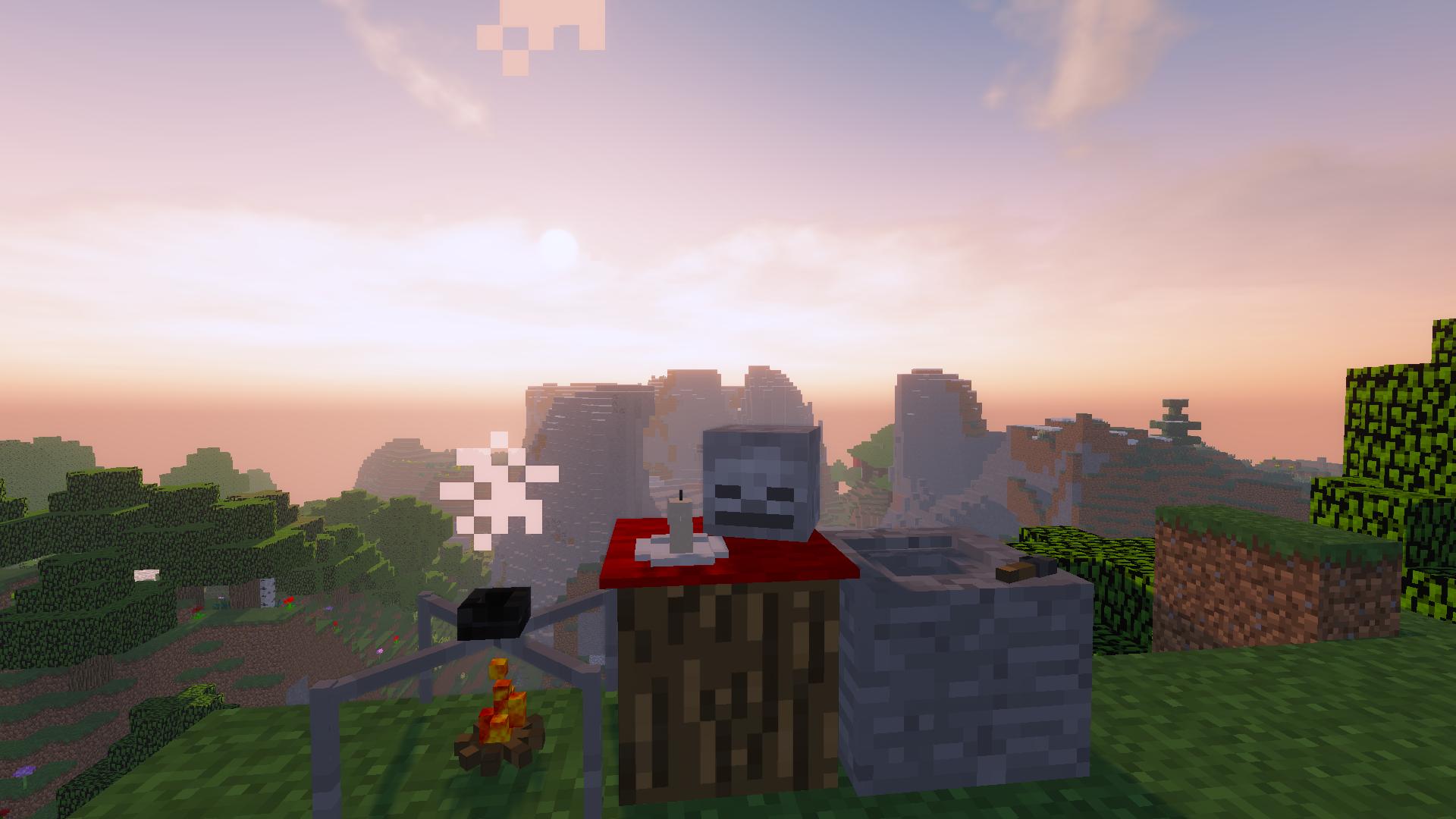 Th recipe blocks of the mod.