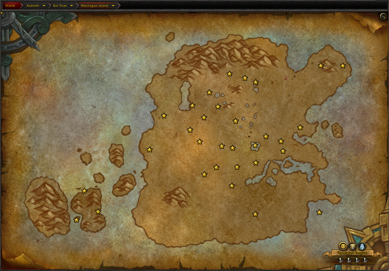Mechagon Map Screenshot