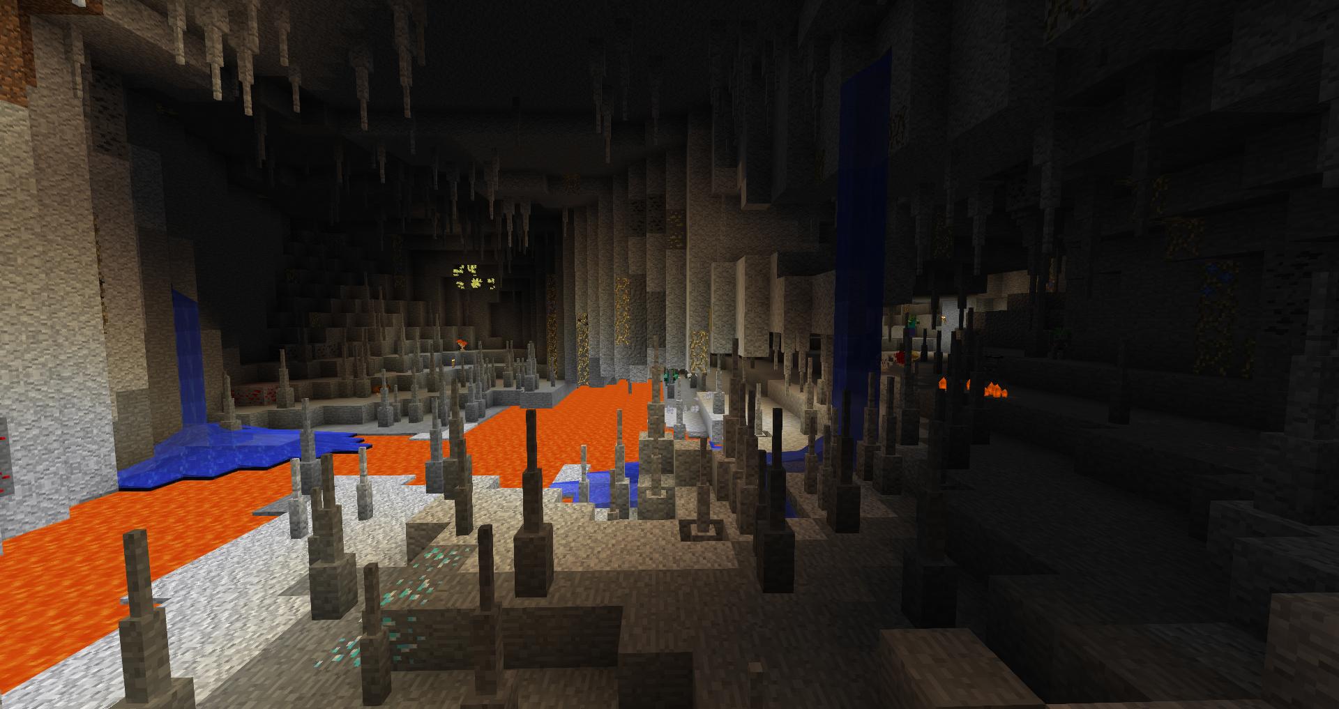 Better Caves with Quark, Botania, and Thaumcraft