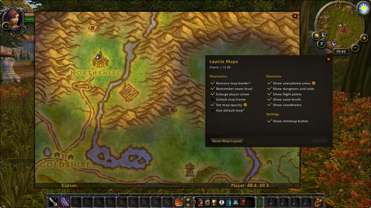 Leatrix Maps World of Warc...   Addons   World of Warcraft ...