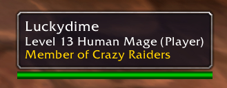 The character tooltip with guild information added