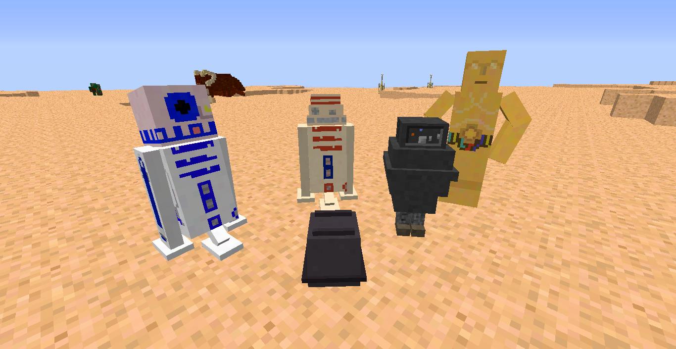 Скачать Star Wars - мод на Звёздные войны 1.7.10 / Моды ...