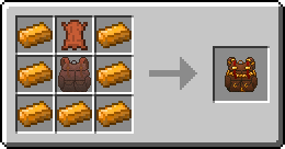 Recipe for the Copper Backpack