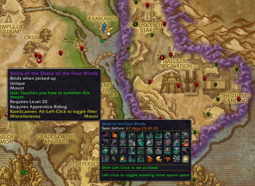 Rarescanner Addons World Of Warcraft Curseforge