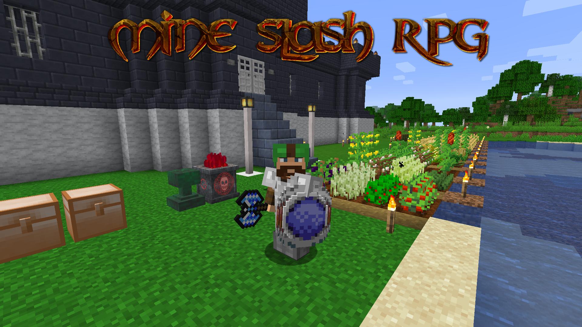 Mine Slash RPG Modpacks Minecraft CurseForge