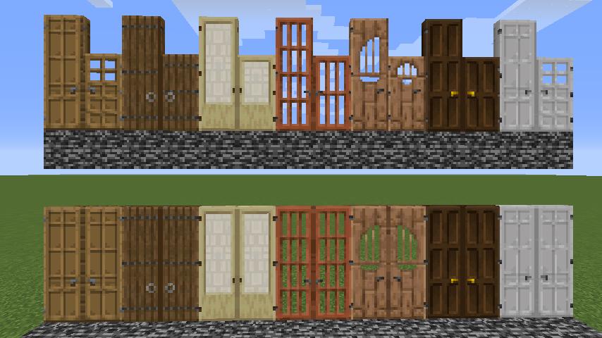 Dramatic Doors Mods Minecraft Curseforge