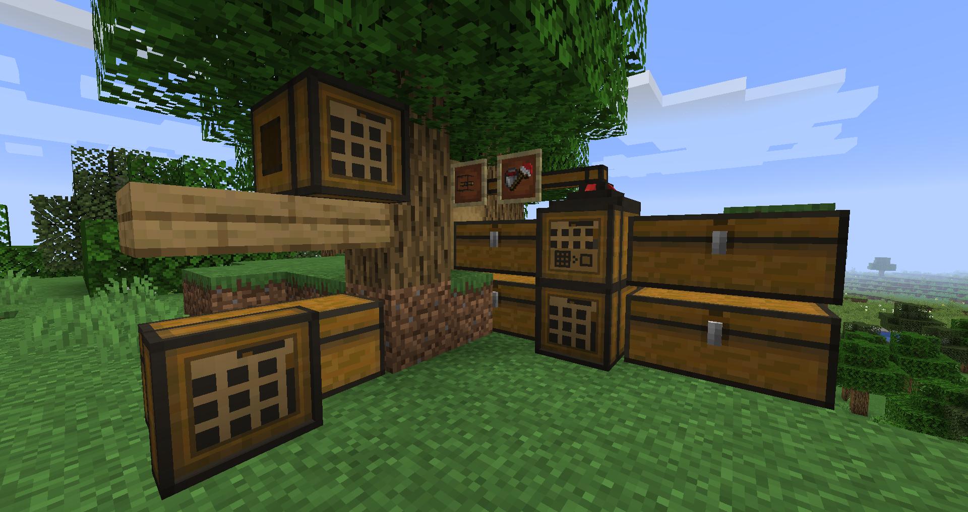 Tom s Simple Storage Mod (F Mods Minecraft CurseForge