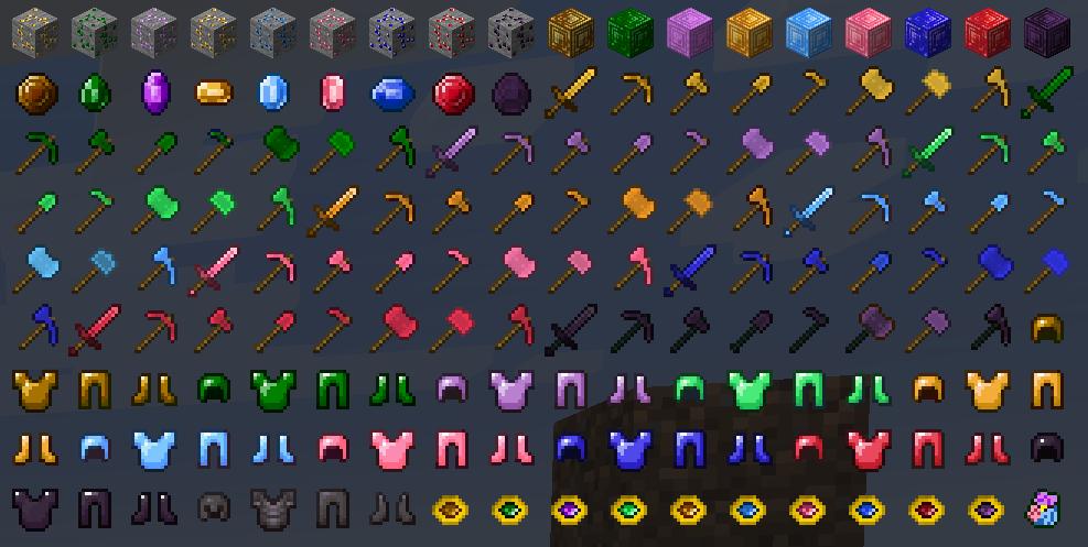 More Gems Fabric Mods Minecraft Curseforge