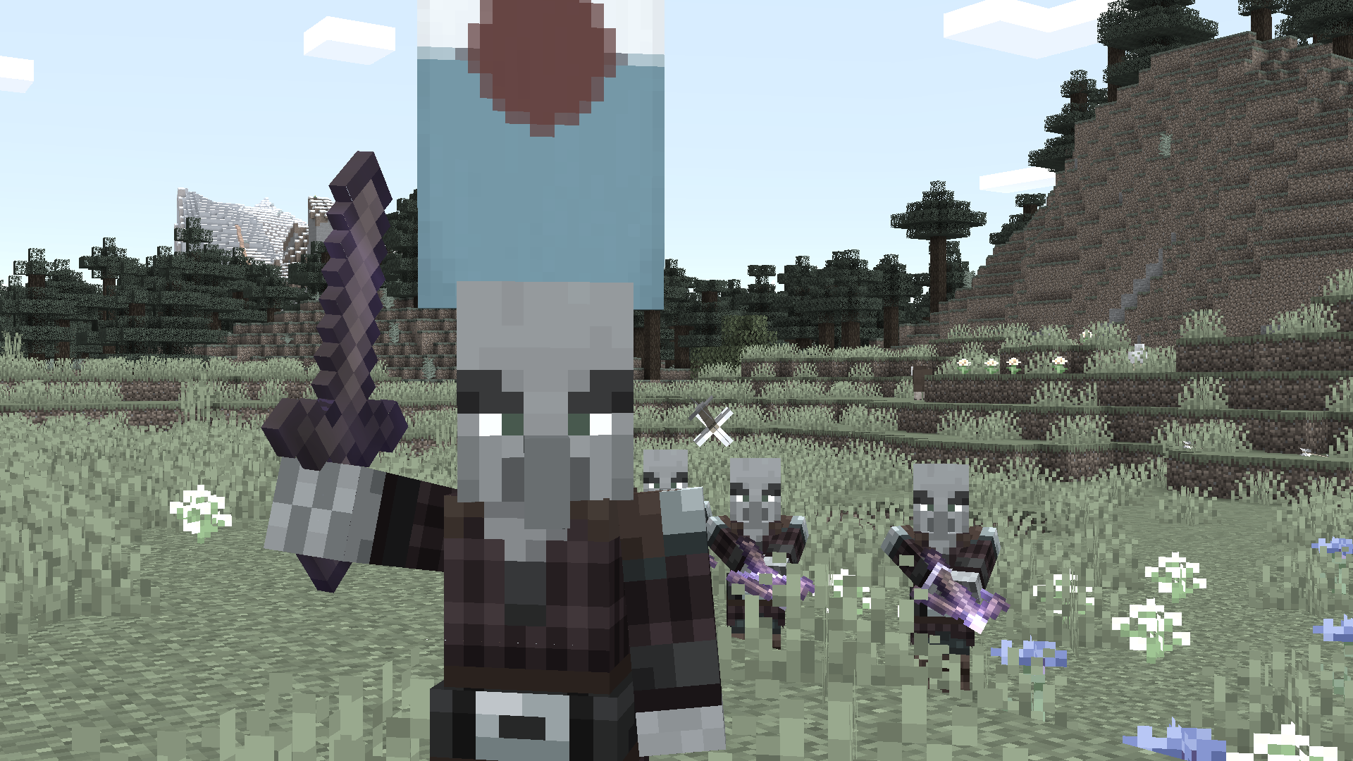 Vampire Hunters attacking the player