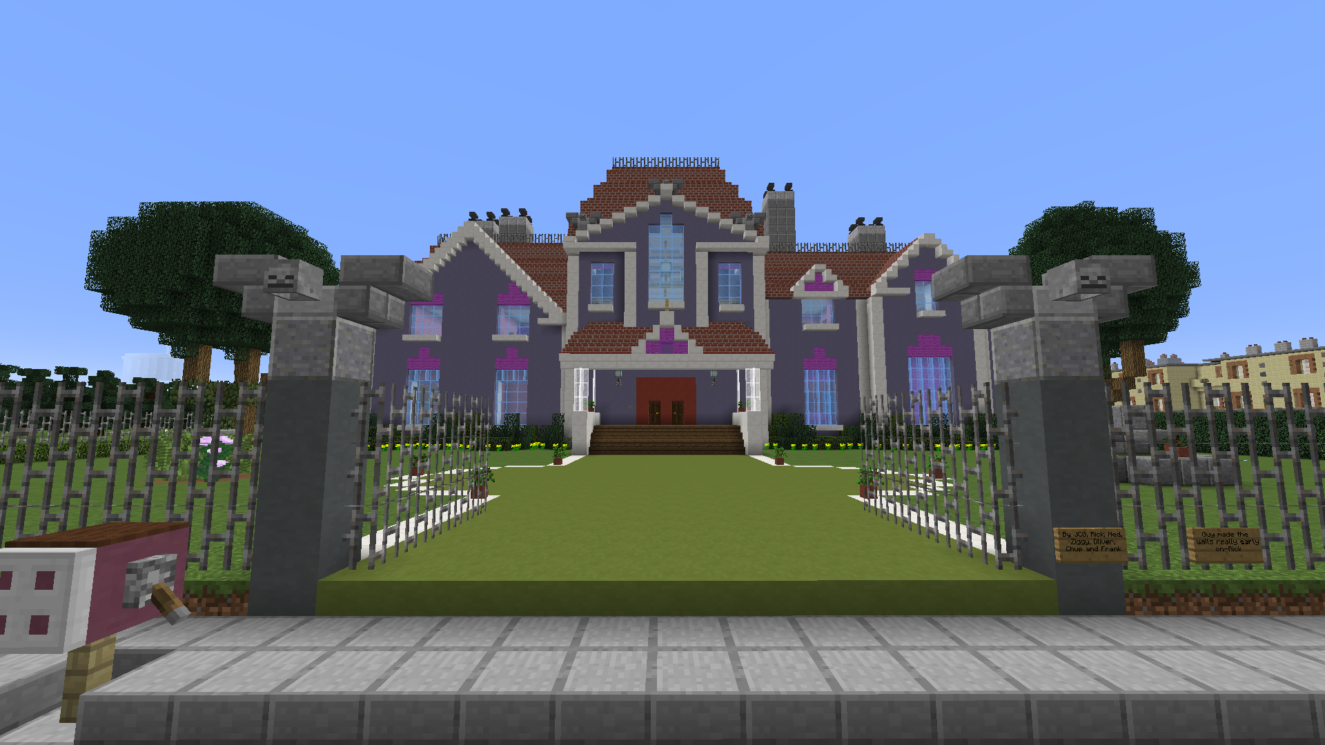 Minecraft map maison diamonds with minecraft map maison for Map maison moderne minecraft