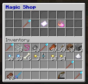 Magic Shop GUI