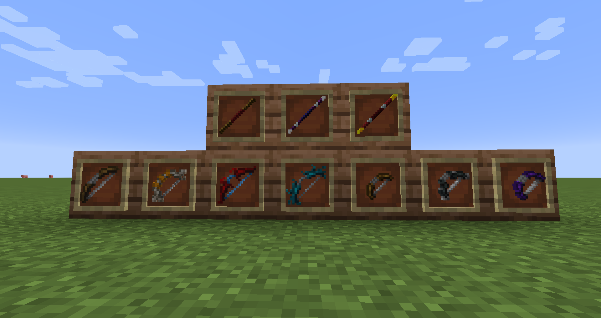 staves and bows