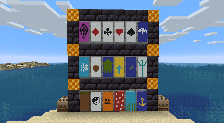 All patterns available in the initial 1.16.3 update.