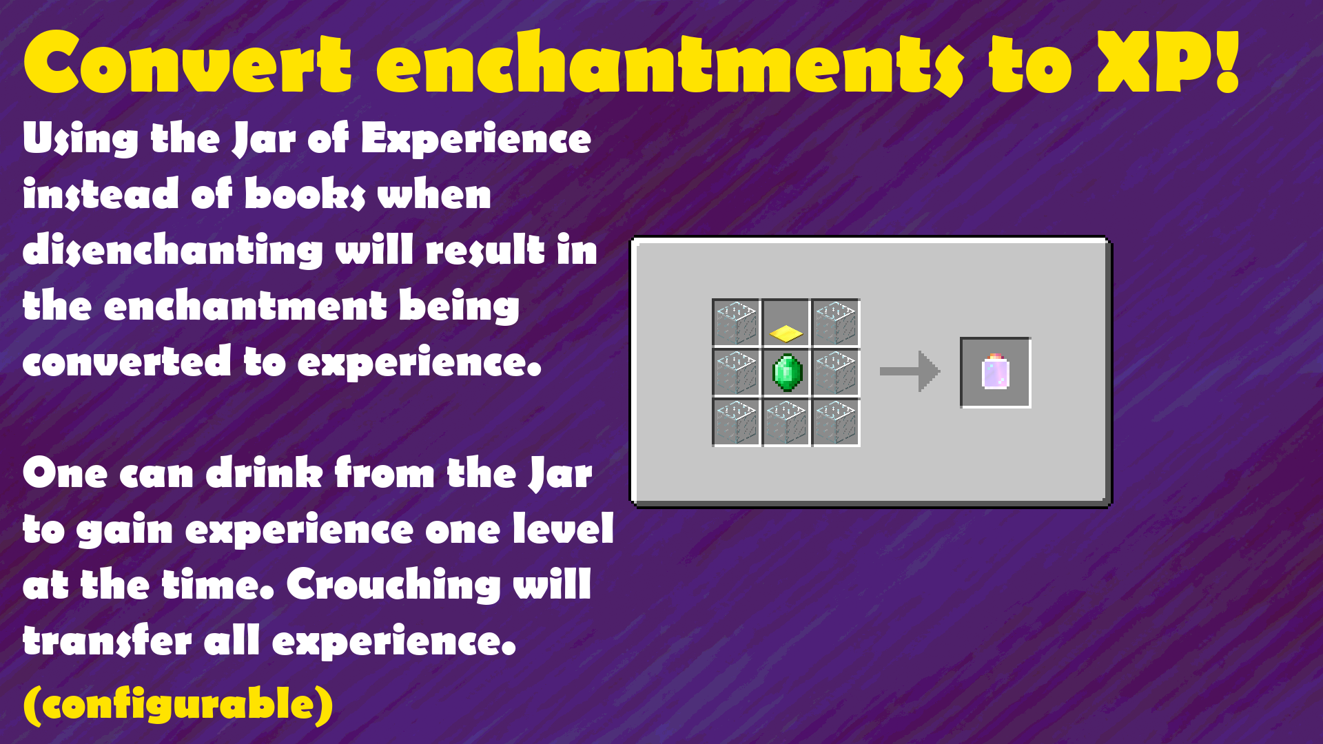 Crafting Guide: Jar of Experience