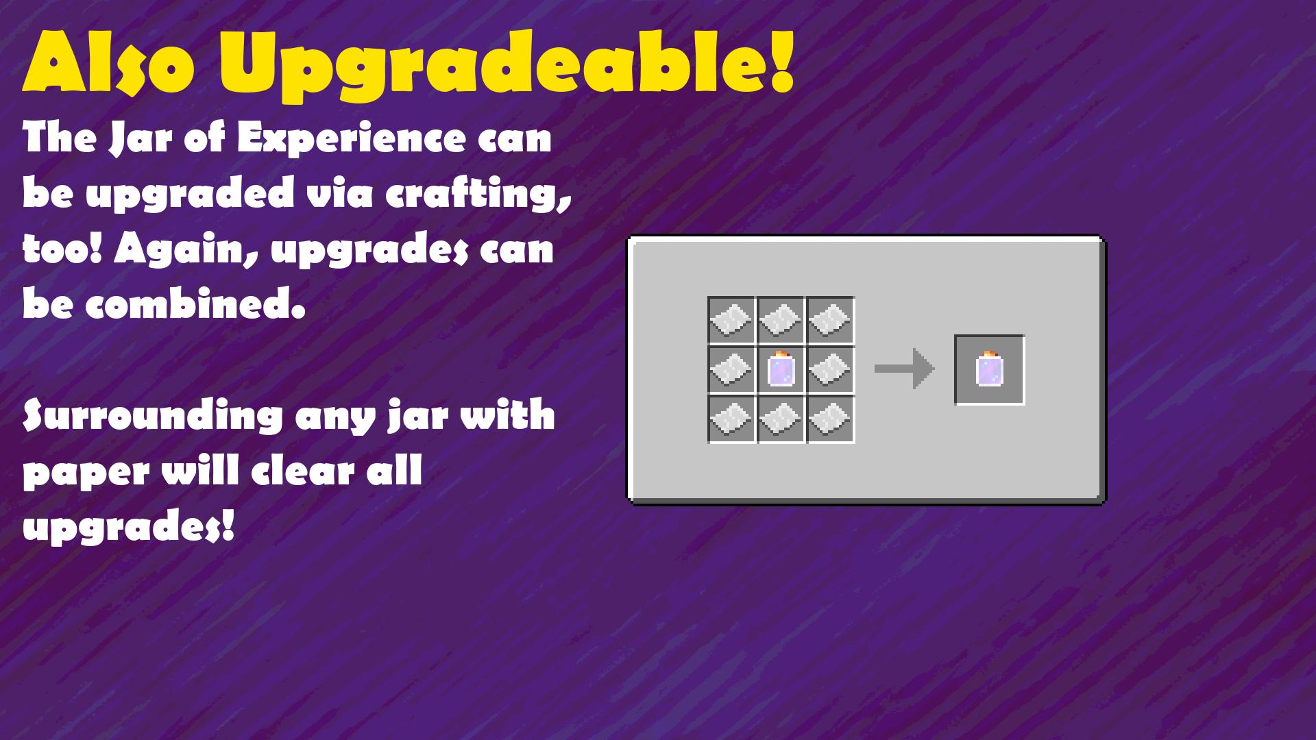 Crafting Guide: Jar Upgrades