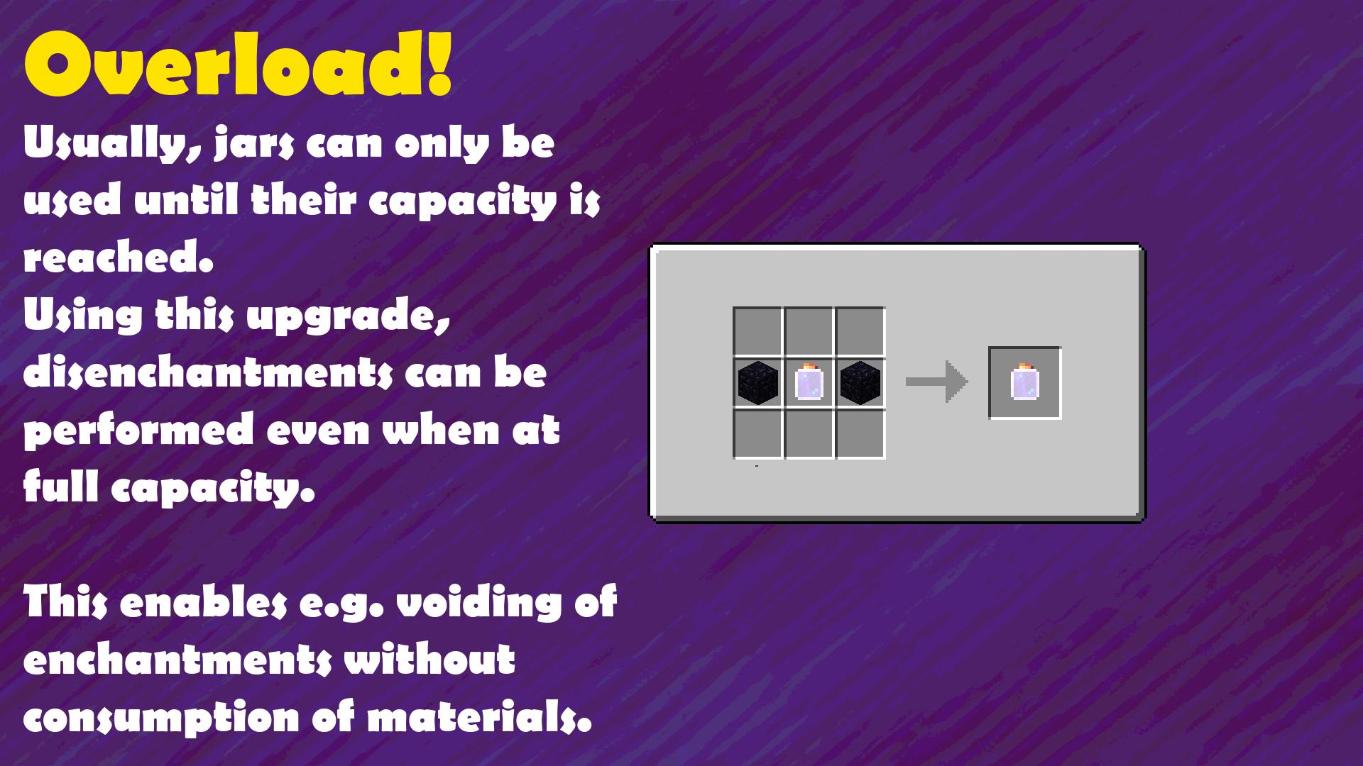 Crafting Guide: Overload Jar