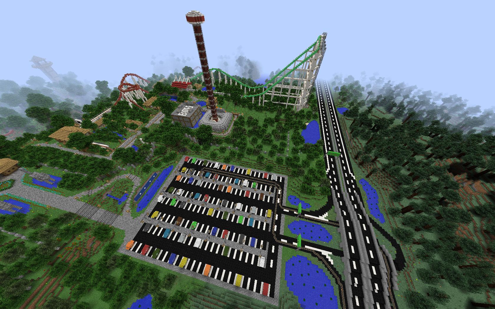 Скачать карту Herofair Amusement Park для Майнкрафт ...